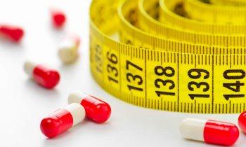 tabella di dieta con pillole di bruciagrassi