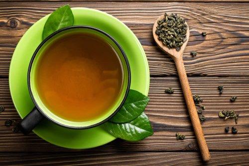 il tè verde biologico è usato per perdere peso
