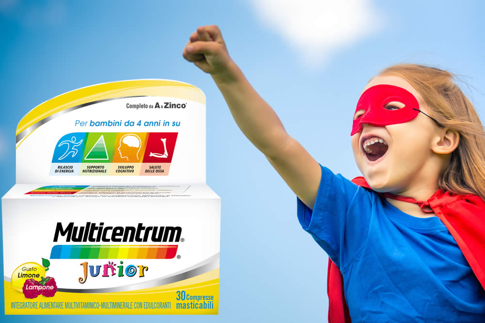 Multicentrum Junior - Vitamine e Bambini: Fa Bene? Fa Male? Opinioni
