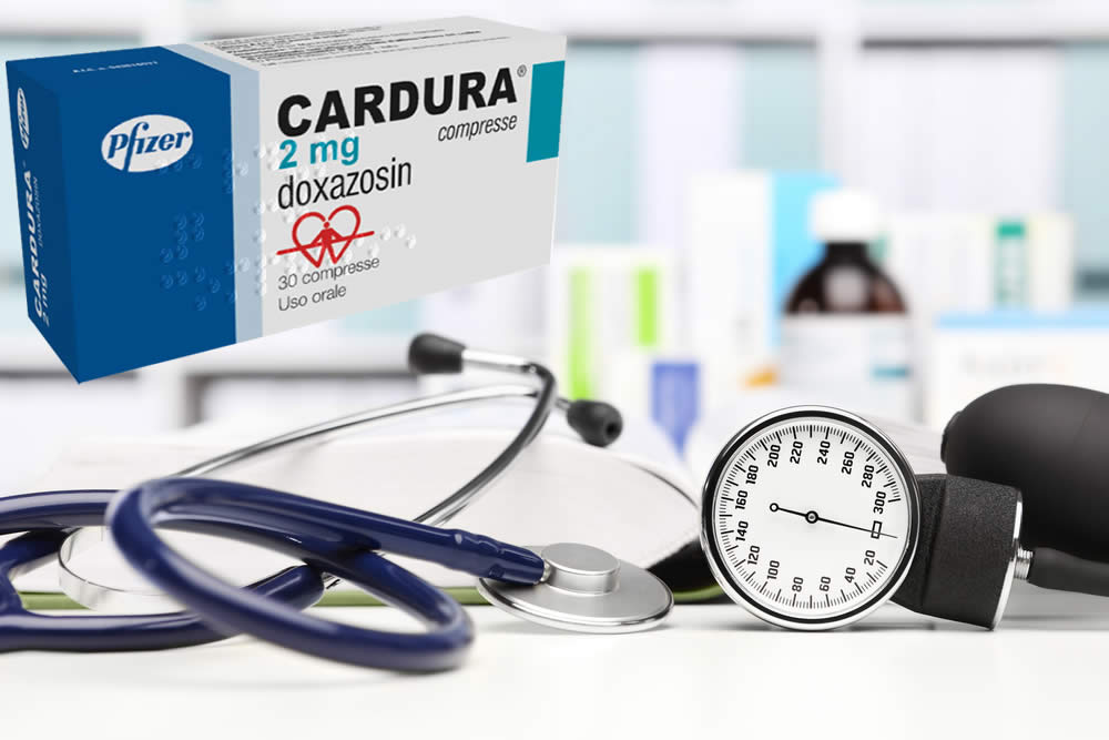 Cardura ® 2020 - 2mg, 4 mg Compresse - Foglio Illustrativo