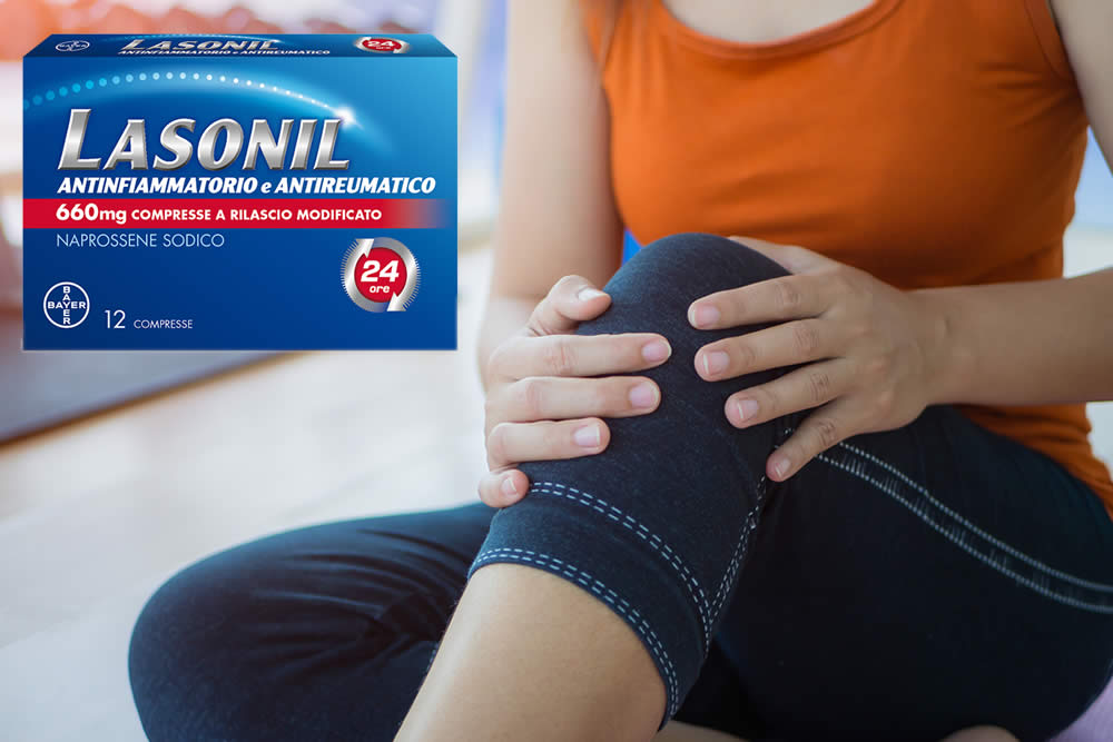 Lasonil antinfiammatorio e Antireumatico 660 mg - Compresse rivestite con film