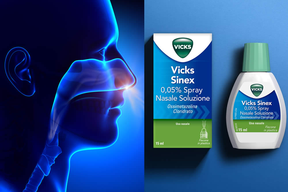 Vicks Sinex 2019 - Spray Nasale Decongestionante - Foglio Illustrativo